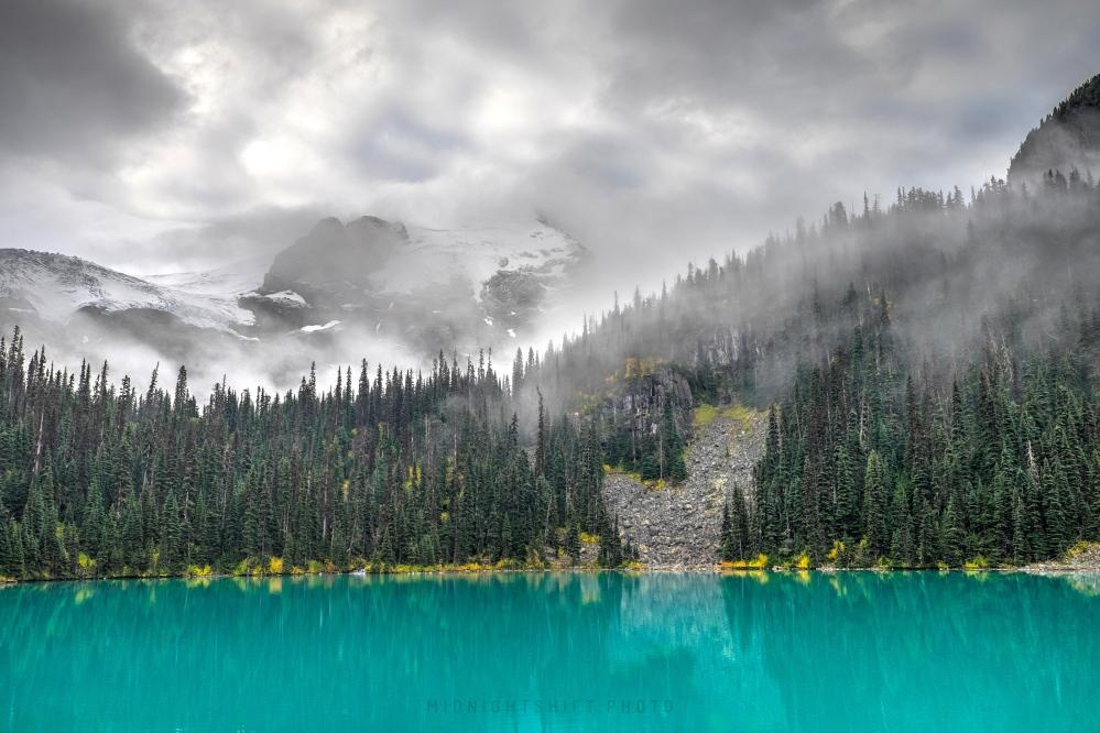 Second lake @ Joffre Lake Provincial Park in British Columbia, Canada.