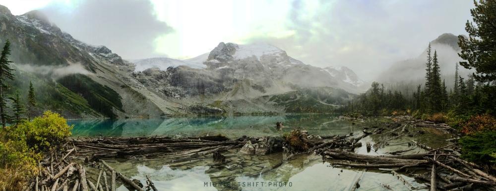 Third lake @ Joffre Lake Provincial Park in British Columbia, Canada.