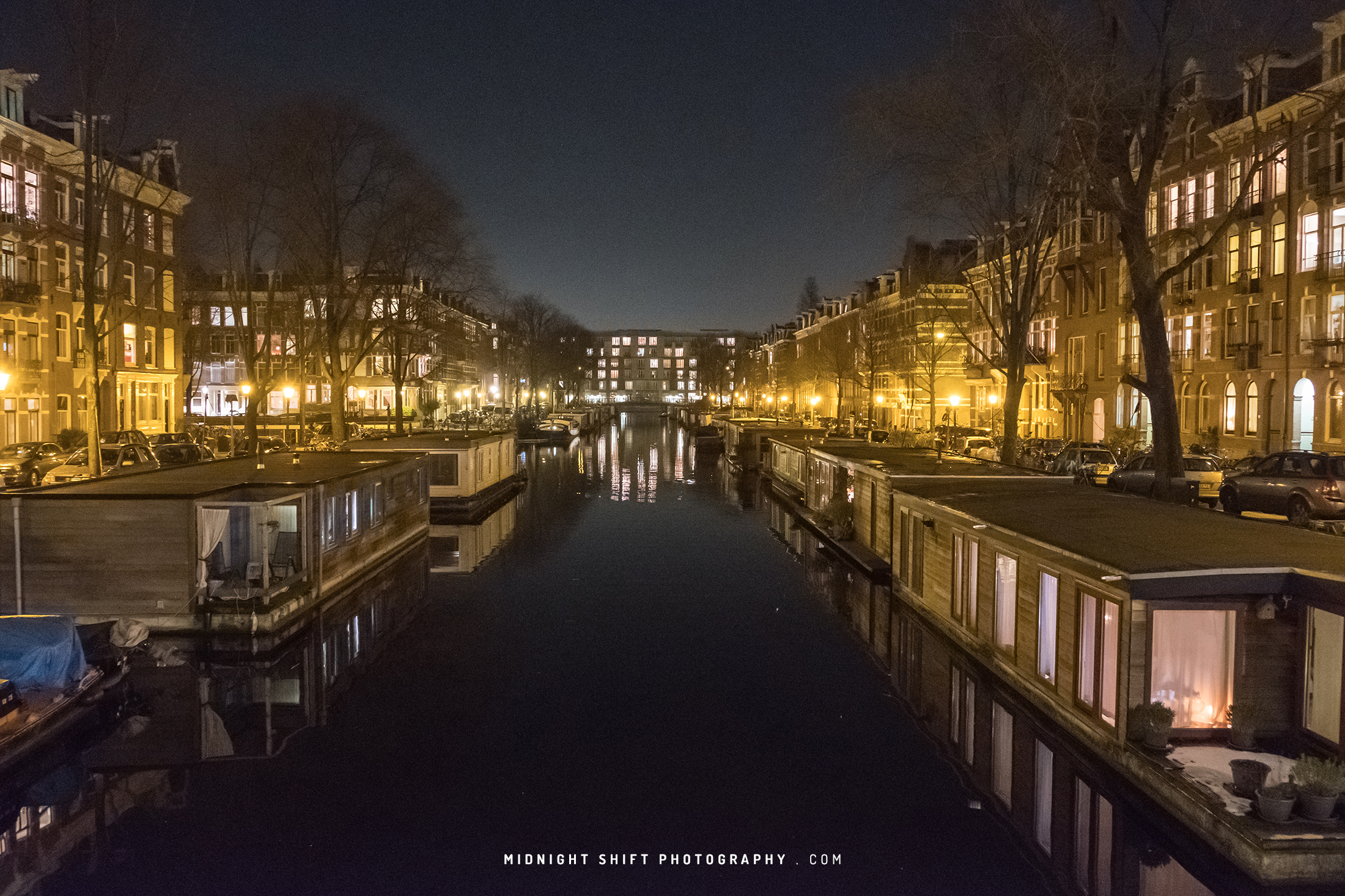 The Quiet Amsterdam Canals